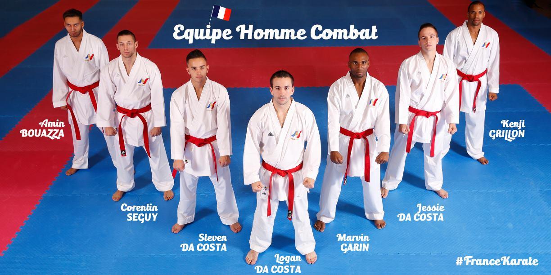 Equipe Kumité Masculine