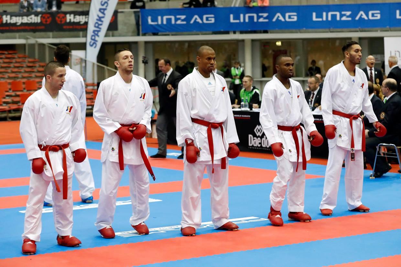 Equipe de France Kumité Masculine