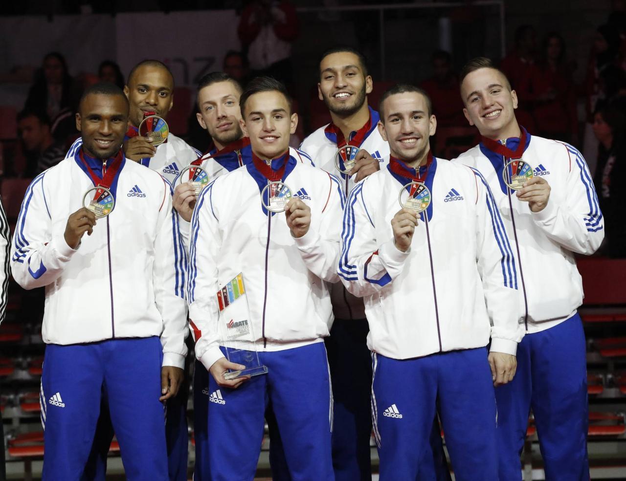 Equipe de France Kumité Masculine 3ème