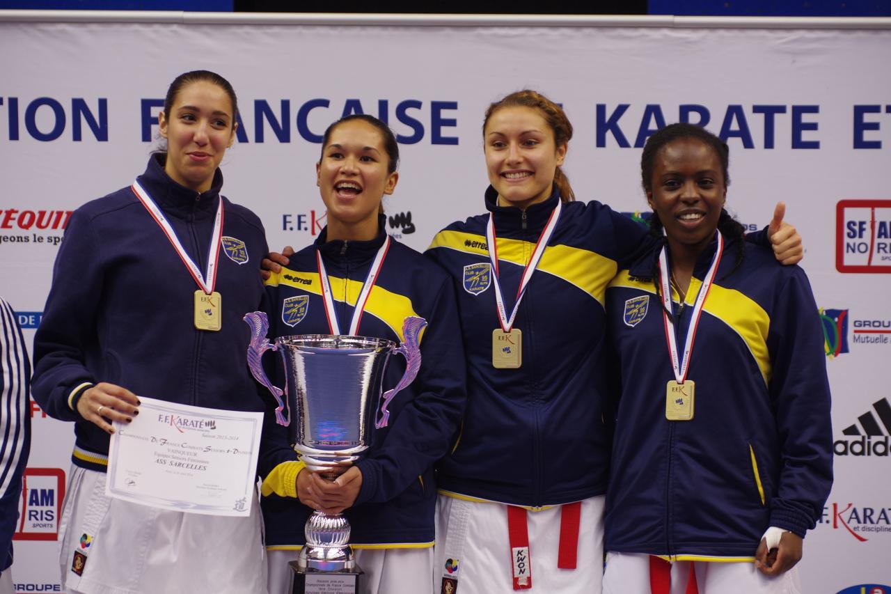 Championnat de France Equipe Senior 1ère Div 2013-2014