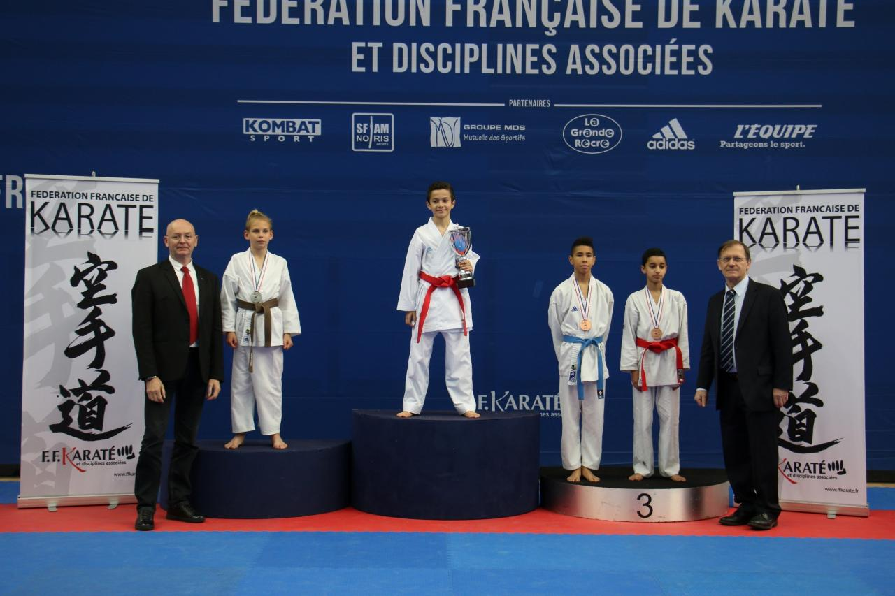 Podiums coupe de france 2015 minimes