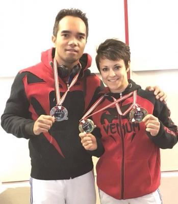 Minh Dack - Médaillé d'Argent - Open de Salzburg 2015