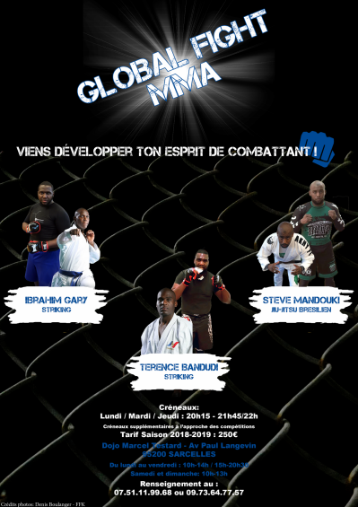 Affiche global fight