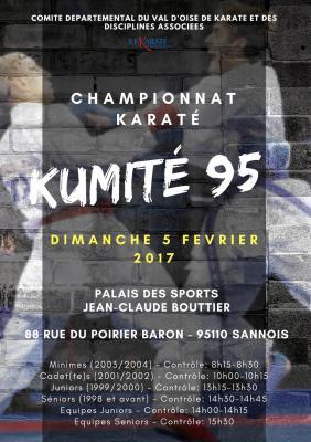 Championnat kumite 95 5 fevrier 2017