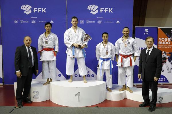 Coupe de france kata 2018 podiums db 08 2